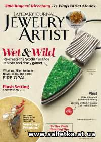 Скачать бесплатно Lapidary Journal Jewelry Artist Vol.71 №8 2018