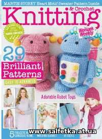 Скачать бесплатно Knitting & Crochet from Woman's Weekly — March 2018