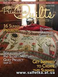 Скачать бесплатно Primitive Quilts and Projects - Summer 2018