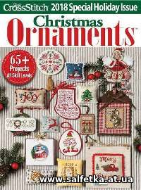 Скачать бесплатно Just Cross Stitch Vol.36 №6 Christmas Ornaments 2018